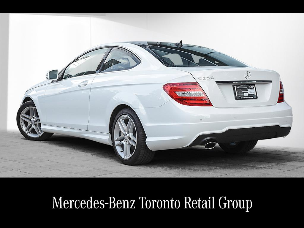 certified pre owned 2013 mercedes benz c class c250 2 door coupe dsp1603871 mercedes benz of. Black Bedroom Furniture Sets. Home Design Ideas