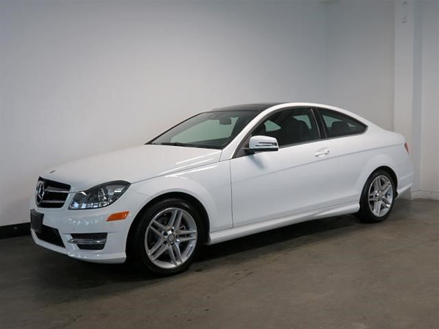 Certified pre owned 2015 mercedes benz c class c250 2 door for Mercedes benz cpo