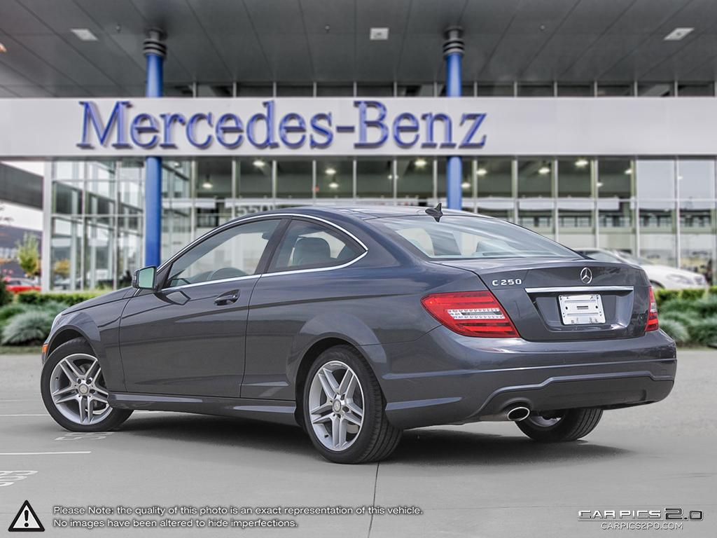 Certified pre owned 2013 mercedes benz c class c250 2 door for Mercedes benz c class pre owned