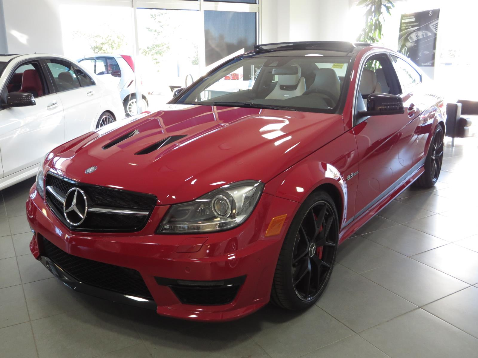Certified pre owned 2015 mercedes benz c class c63 amg 2 for Mercedes benz c class pre owned