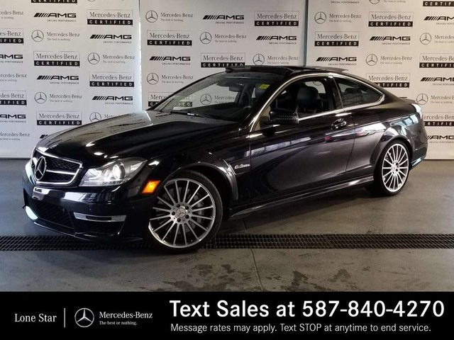 Pre-Owned 2012 Mercedes-Benz C-CLASS C63 AMG
