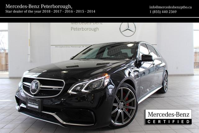 Certified Pre Owned 2015 Mercedes Benz E CLASS E63 AMG