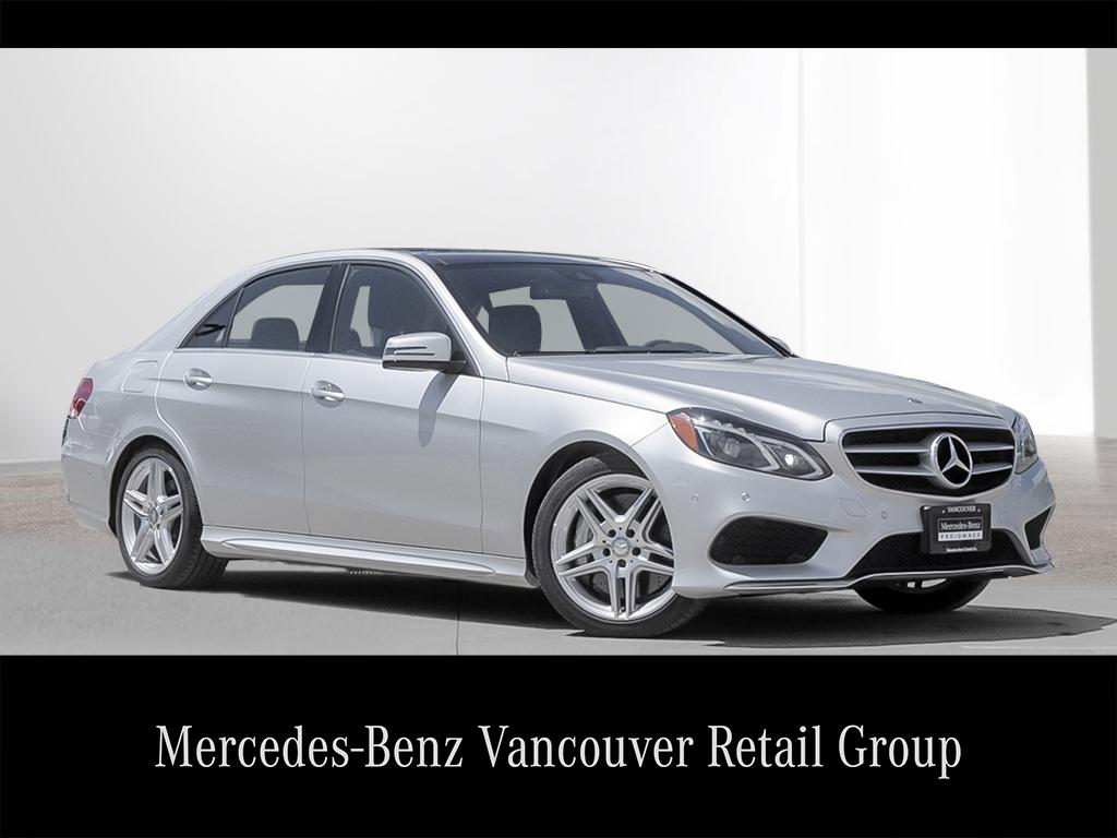 Certified pre owned 2014 mercedes benz e class e550 4 door for Pre owned e class mercedes benz