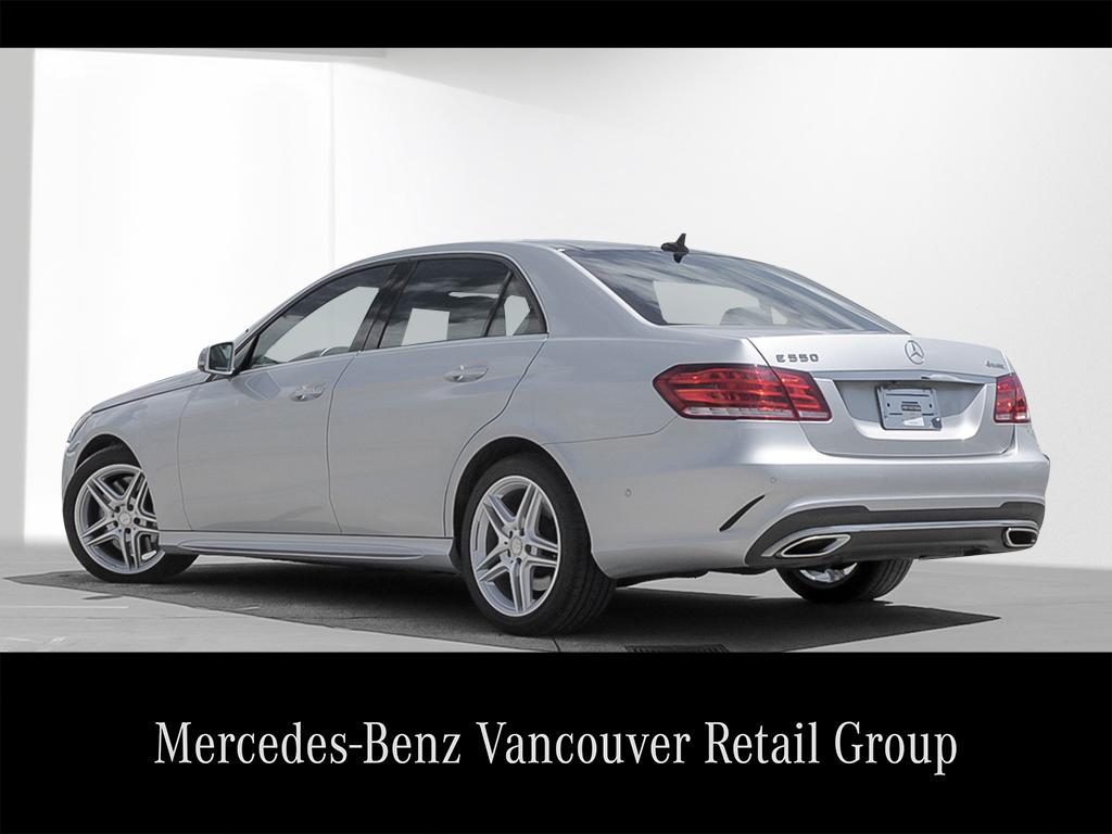 Certified pre owned 2014 mercedes benz e class e550 4 door for Mercedes benz certified pre owned canada