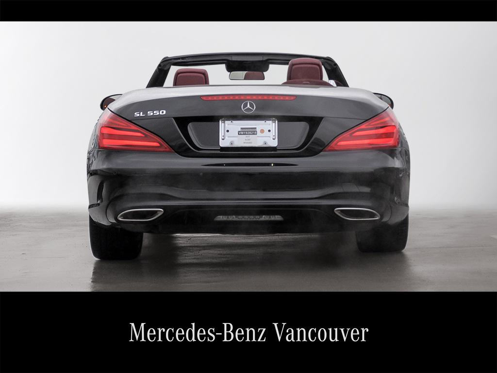 Certified Pre-Owned 2017 Mercedes-Benz SL-CLASS SL550