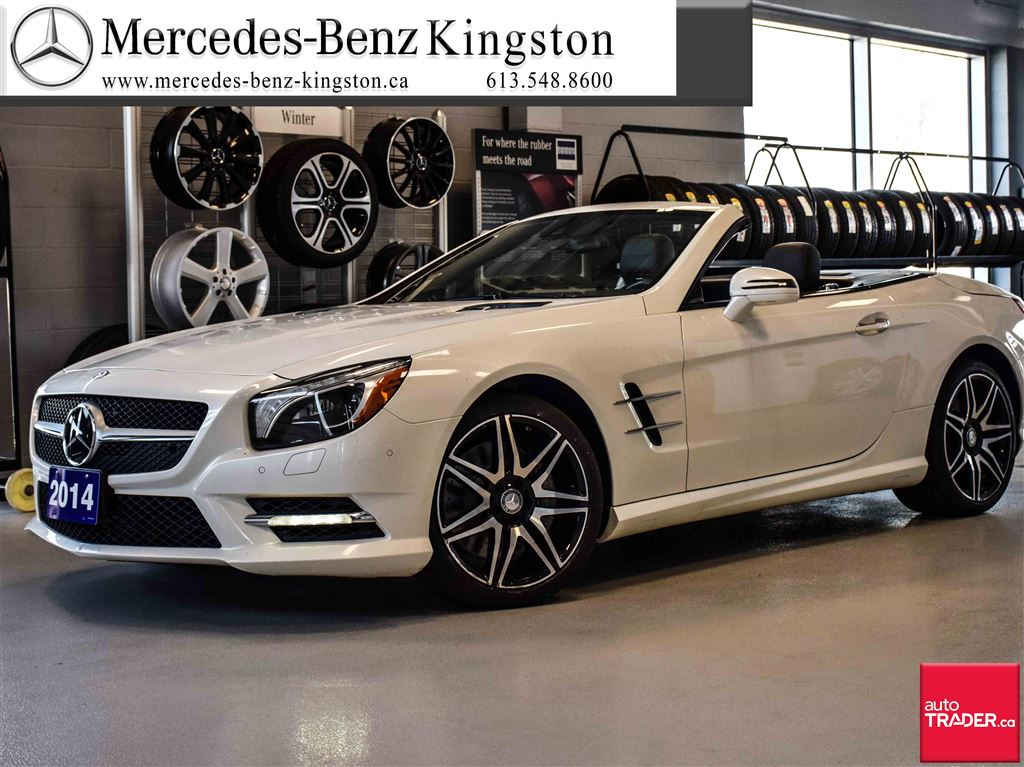 Certified pre owned 2014 mercedes benz sl class sl550 2 for Mercedes benz sl550 used