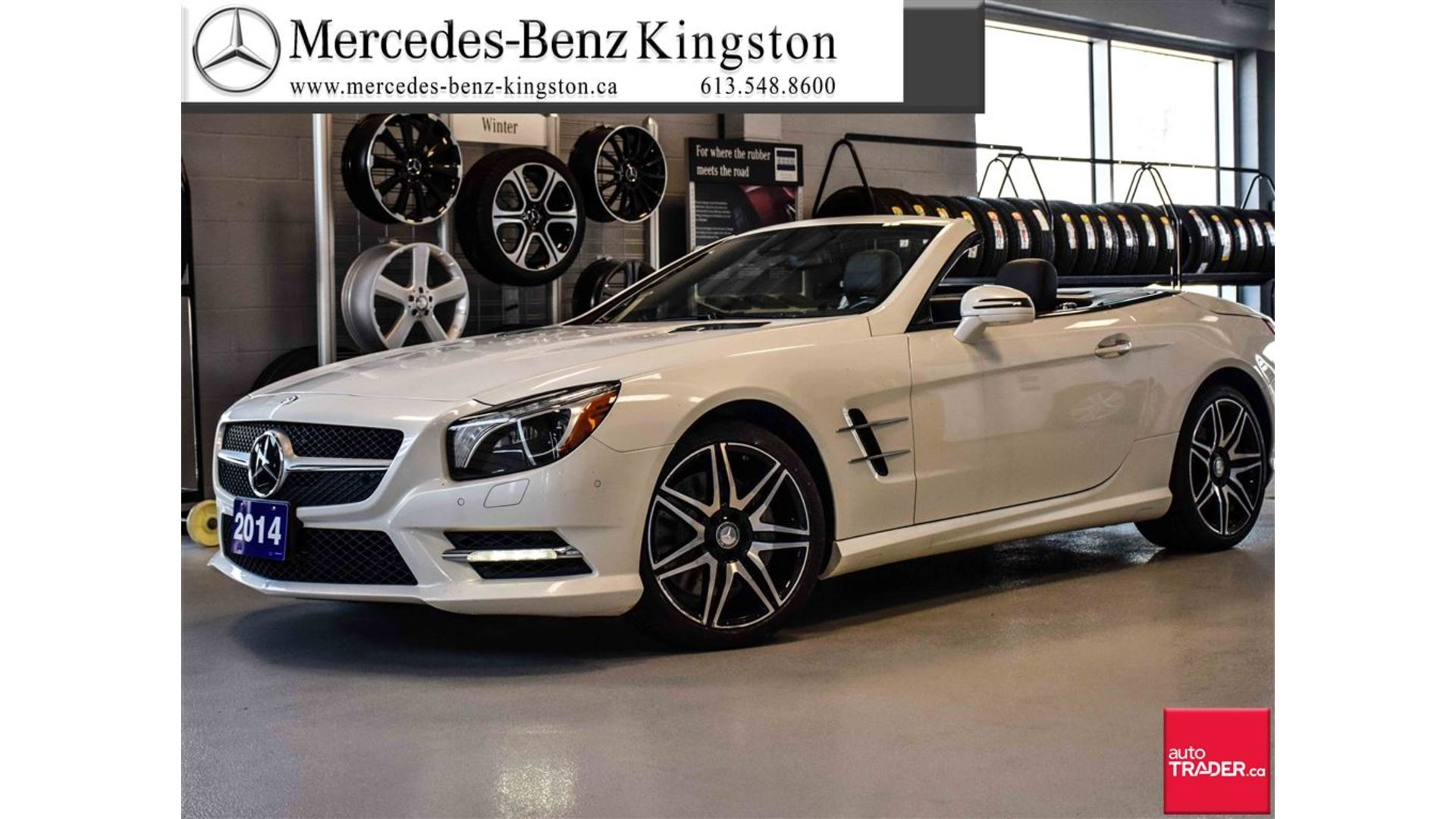 Certified Pre Owned 2014 Mercedes Benz SL CLASS SL550