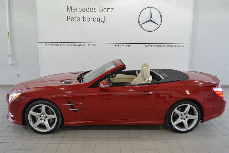 Certified pre owned 2014 mercedes benz sl class sl550 2 for Mercedes benz certified pre owned canada