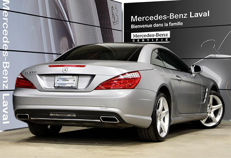 Pre-Owned 2014 Mercedes-Benz SL-CLASS SL550