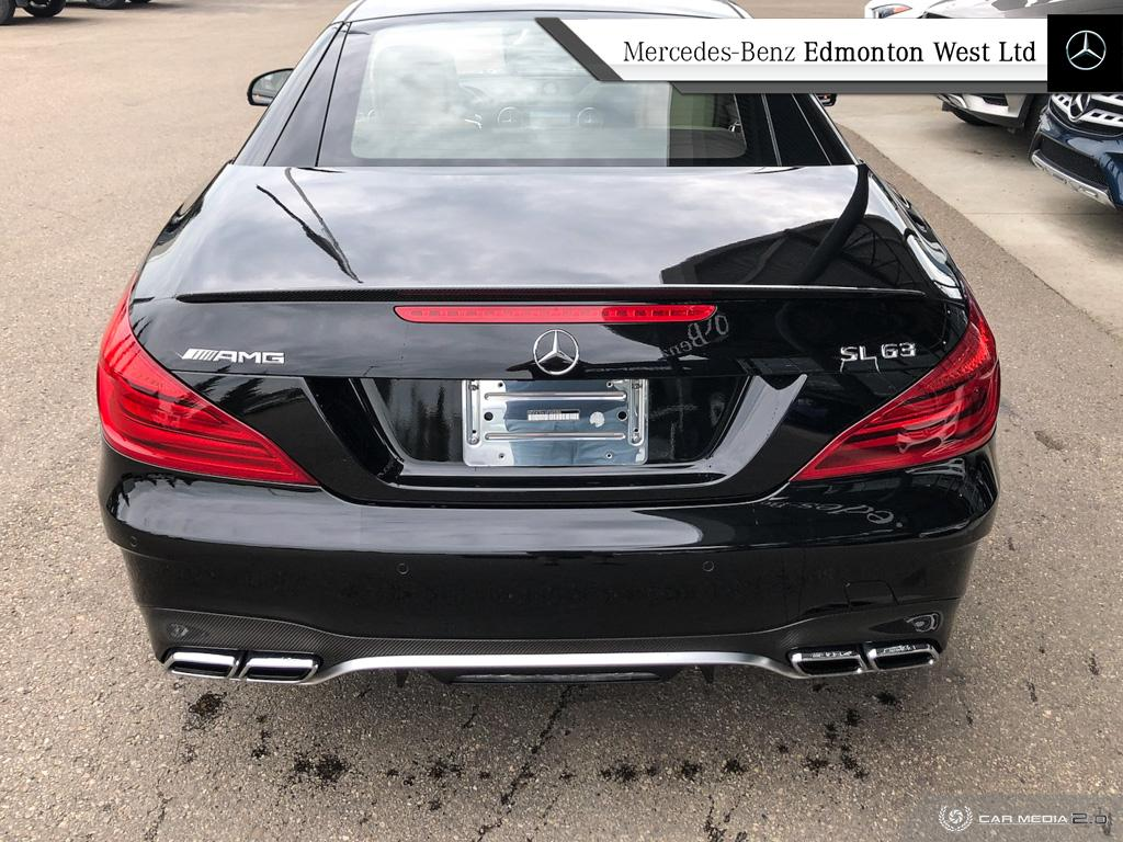 Certified Pre-Owned 2017 Mercedes-Benz SL-CLASS SL63 AMG