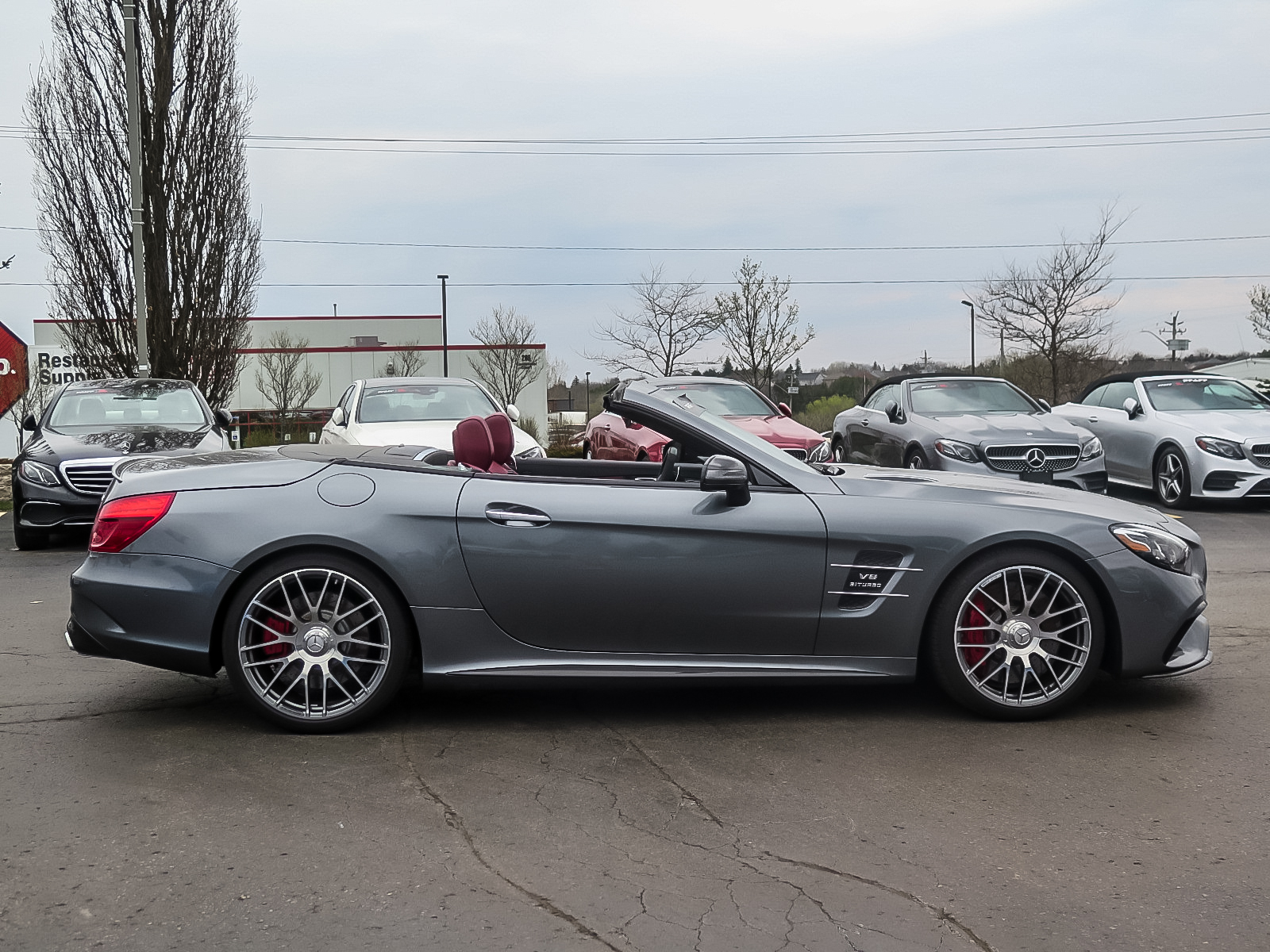 Certified Pre-Owned 2018 Mercedes-Benz SL-CLASS SL63 AMG