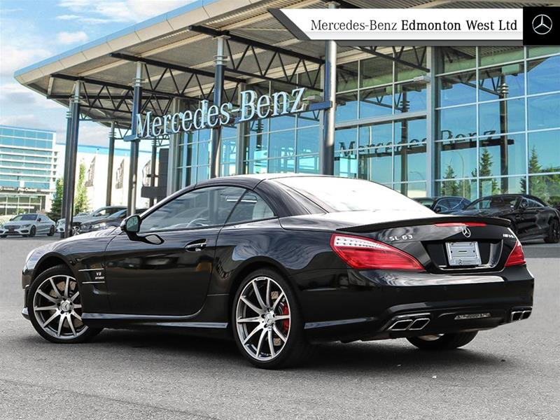 Pre owned 2013 mercedes benz sl class sl63 amg 2 door for 2013 mercedes benz sl class sl63 amg