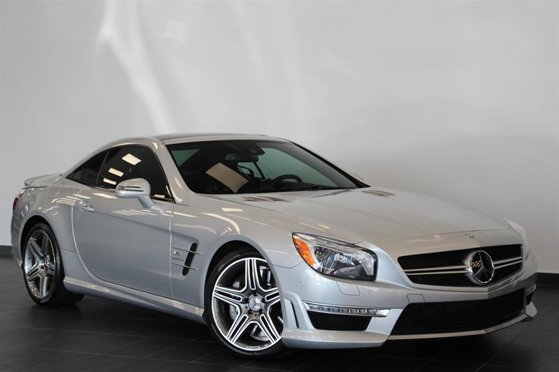 Pre-Owned 2013 Mercedes-Benz SL-CLASS SL63 AMG