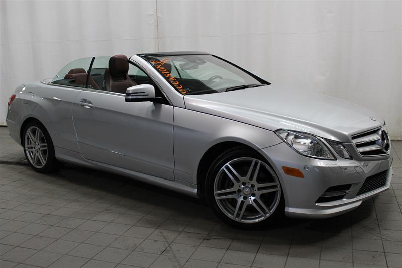 Pre owned 2013 mercedes benz e class e350 convertible u17 for 2013 mercedes benz e350 cabriolet