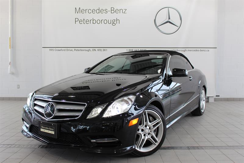 Pre owned 2013 mercedes benz e class e550 convertible for Mercedes benz canada pre owned