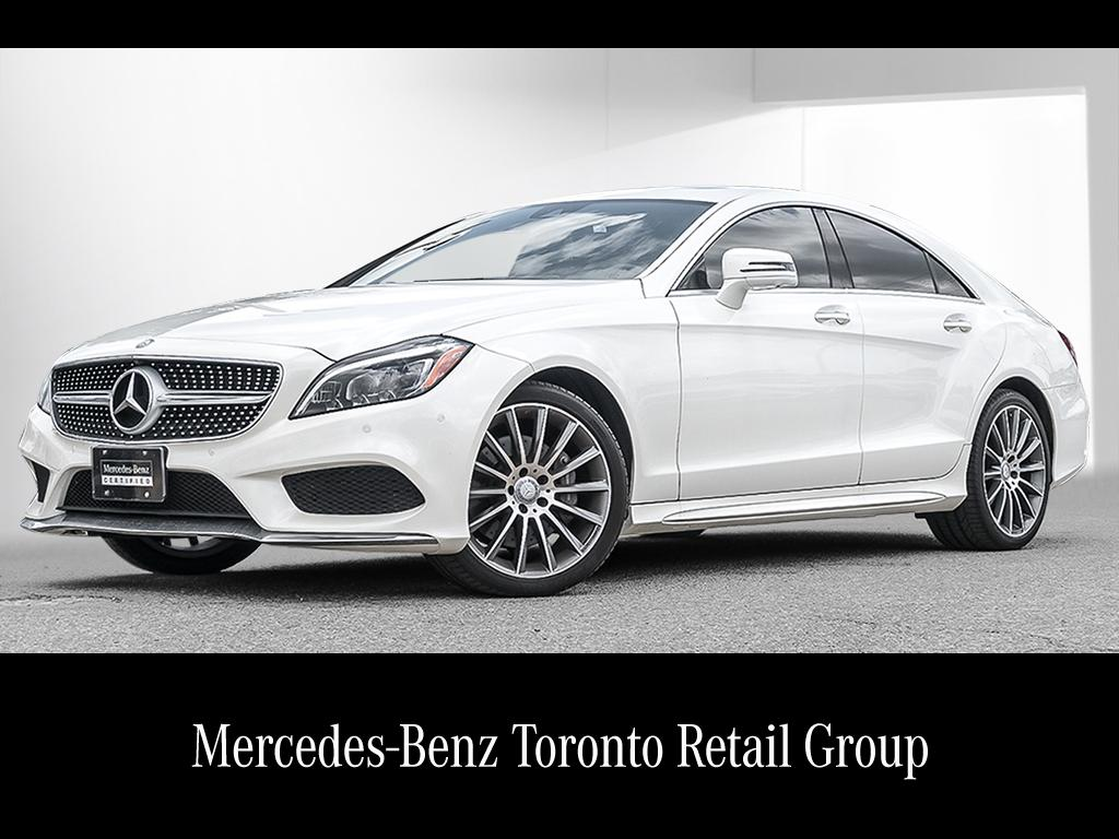 Certified pre owned 2015 mercedes benz cls cls400 coupe for Mercedes benz canada pre owned