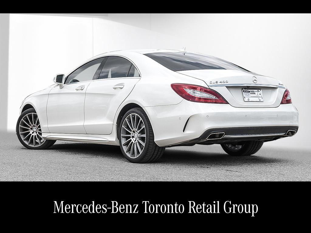 Certified pre owned 2015 mercedes benz cls cls400 coupe for Mercedes benz certified pre owned canada
