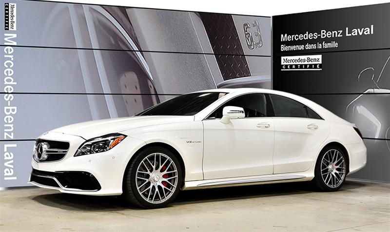 Certified Pre-Owned 2015 Mercedes-Benz CLS CLS63 AMG