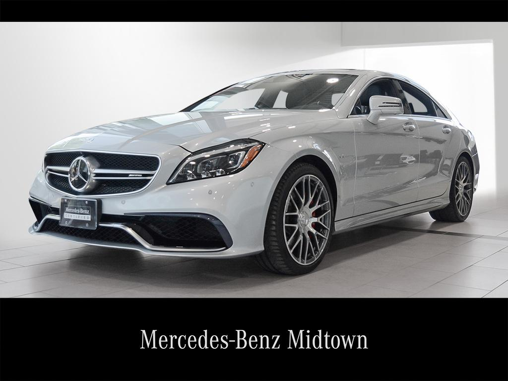Mercedes Benz Midtown >> Certified Pre Owned 2017 Mercedes Benz Cls Cls63 Amg Coupe