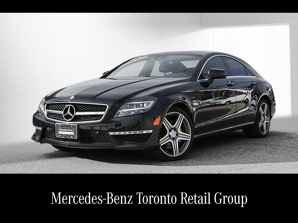 Certified pre owned 2014 mercedes benz cls cls63 amg coupe for Mercedes benz canada pre owned