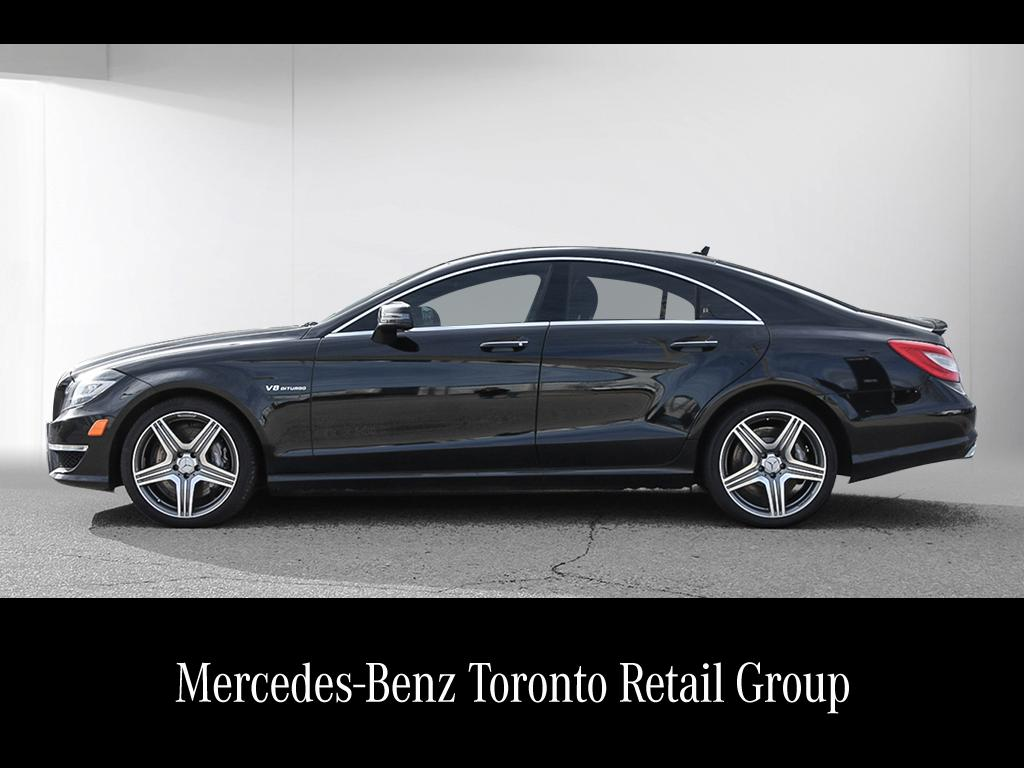 Certified pre owned 2014 mercedes benz cls cls63 amg coupe for Mercedes benz certified pre owned canada