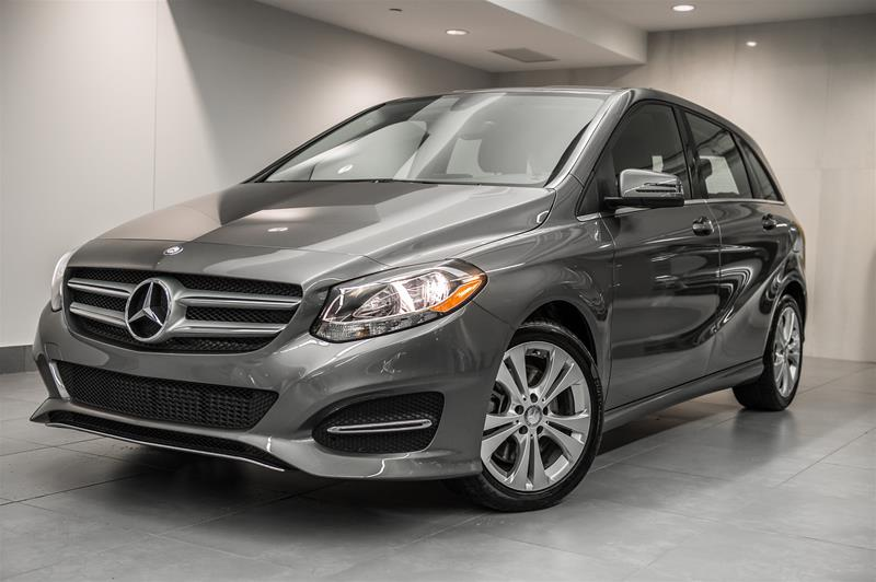 Certified pre owned 2016 mercedes benz b class b250 5 door for Mercedes benz canada pre owned