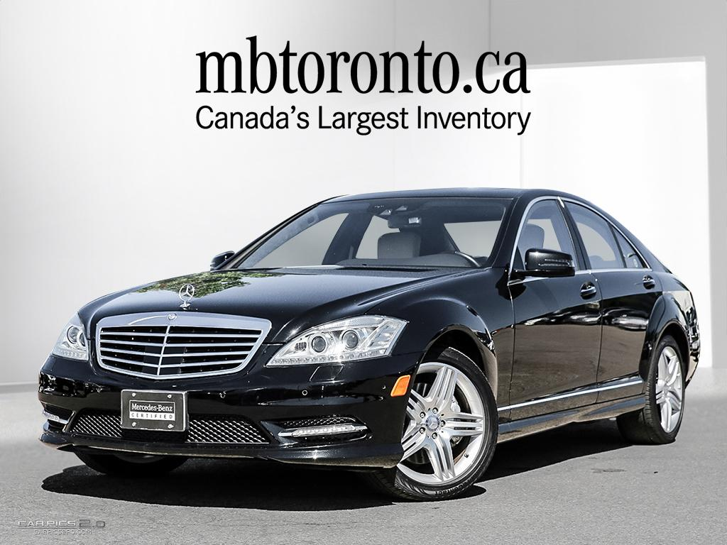 Certified pre owned 2013 mercedes benz s class s550 4 door for Mercedes benz canada pre owned