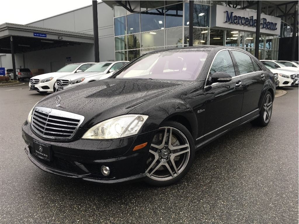 Certified pre owned 2008 mercedes benz s class s63 amg 4 for Pre owned s class mercedes benz