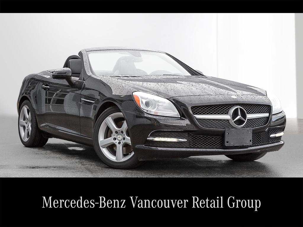 Certified pre owned 2014 mercedes benz slk slk250 for Mercedes benz richmond bc