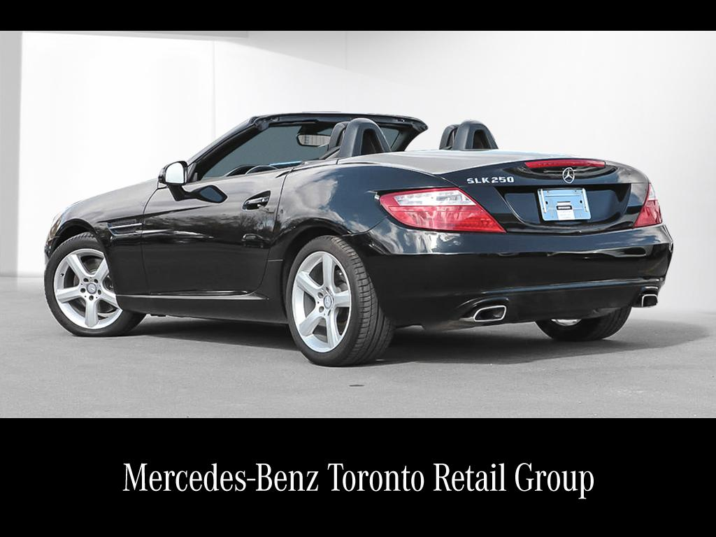 certified pre owned 2014 mercedes benz slk slk250 ForMercedes Benz Canada Pre Owned