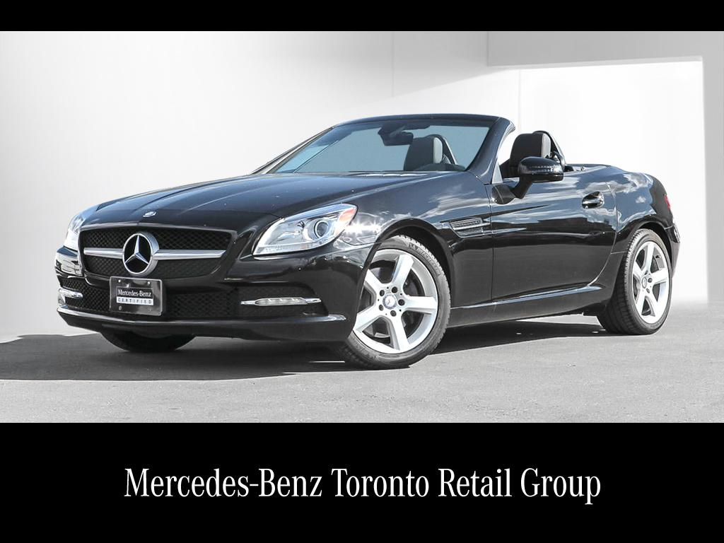 Certified pre owned 2014 mercedes benz slk slk250 for 2014 mercedes benz slk250