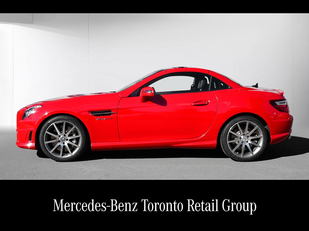 Certified pre owned 2014 mercedes benz slk slk55 amg 2 for Certified pre owned mercedes benz