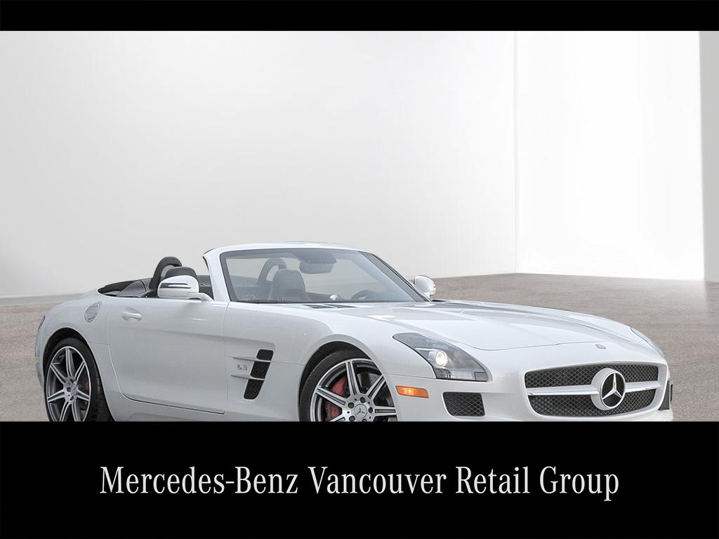 Pre owned 2012 mercedes benz sls sls amg convertible for Mercedes benz canada pre owned