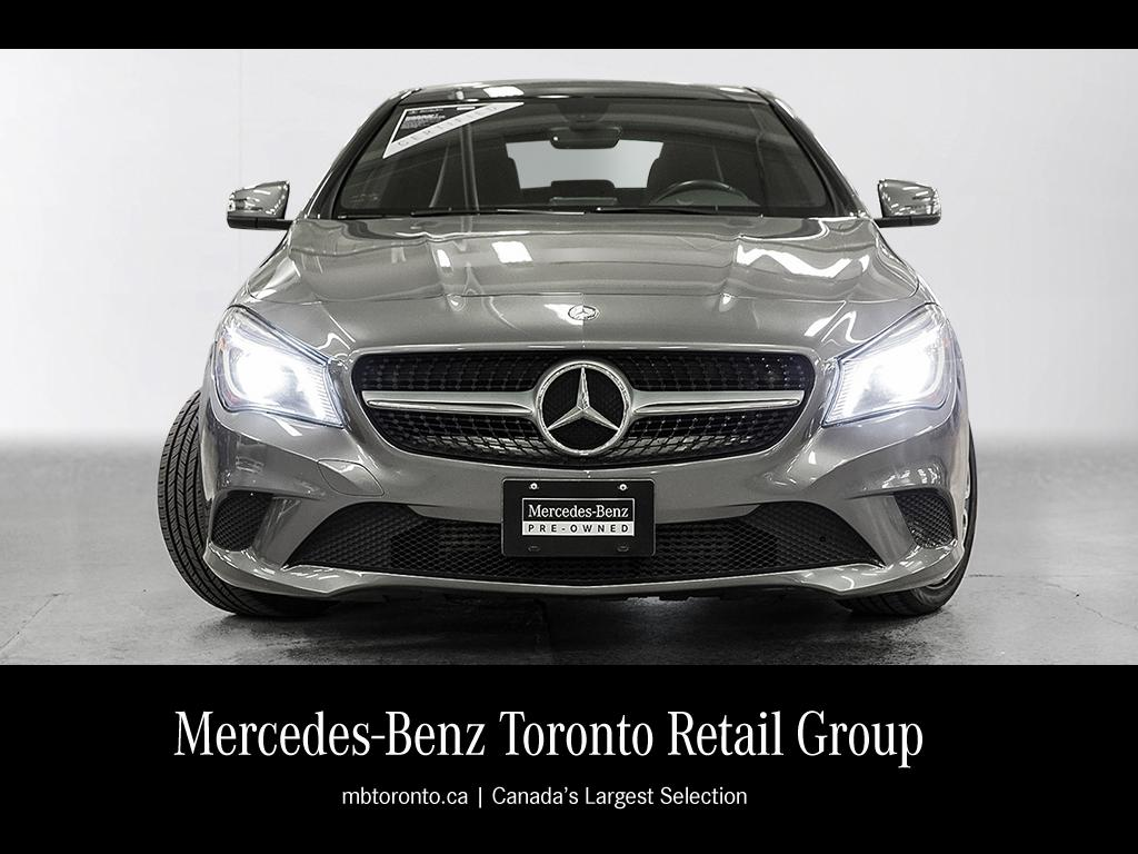Certified pre owned 2014 mercedes benz cla cla250 coupe for Mercedes benz certified pre owned canada