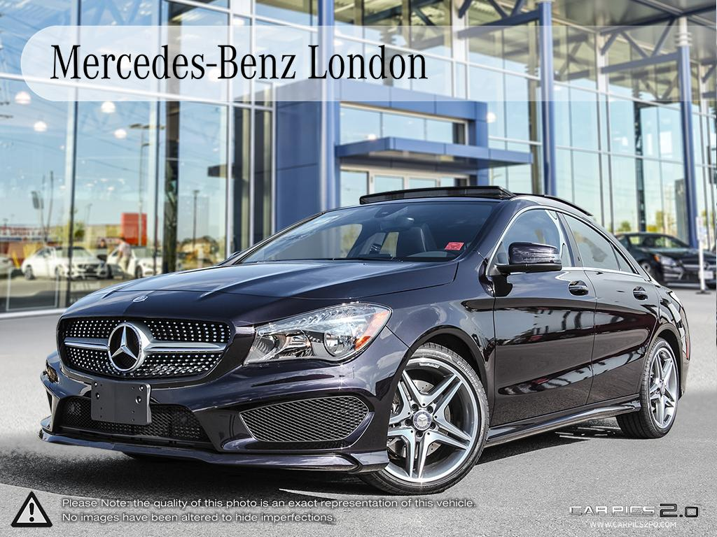 Certified pre owned 2014 mercedes benz cla cla250 coupe for Mercedes benz canada pre owned