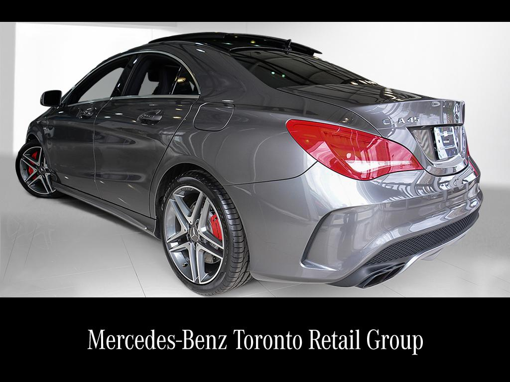 Certified pre owned 2014 mercedes benz cla cla45 amg coupe for Mercedes benz certified preowned