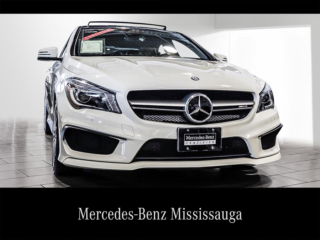 Certified Pre Owned 2014 Mercedes Benz CLA CLA45 AMG