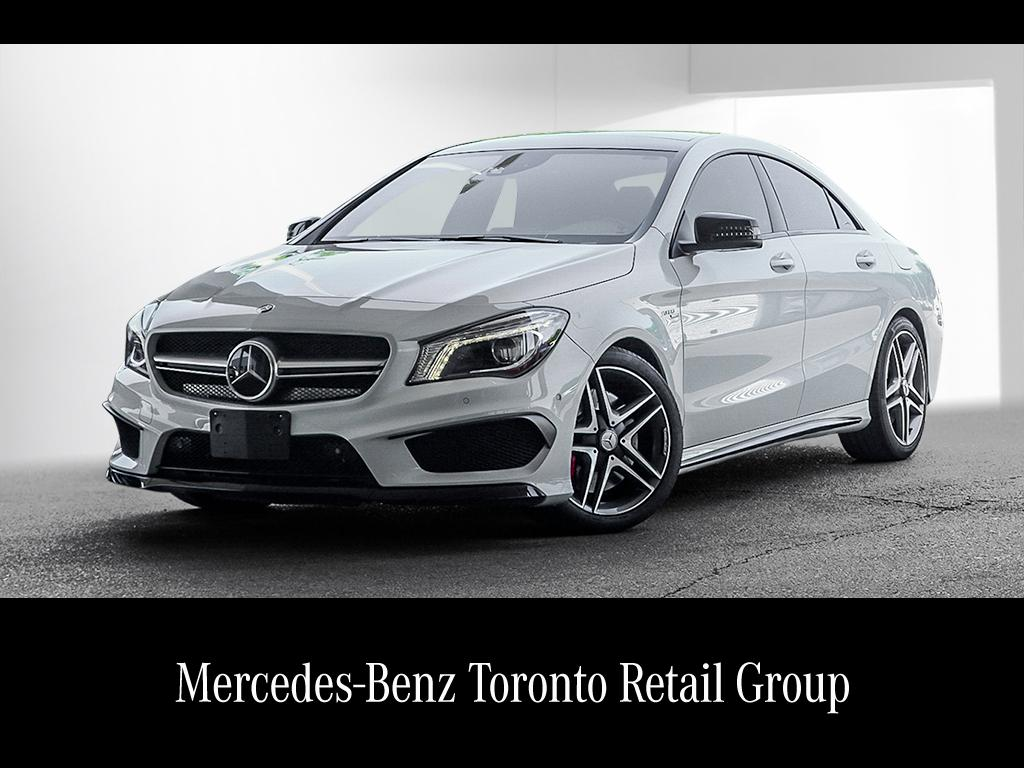 Certified pre owned 2014 mercedes benz cla cla45 amg coupe for Mercedes benz pre owned inventory