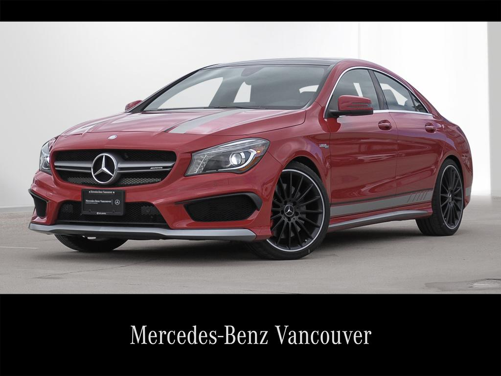 Certified Pre Owned 2016 Mercedes Benz Cla Cla45 Amg Coupe