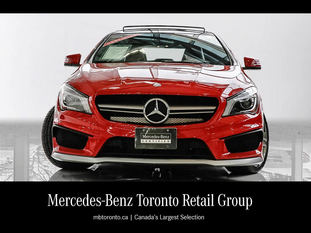 certified pre owned 2014 mercedes benz cla cla45 amg coupe ForMercedes Benz Certified Pre Owned Canada