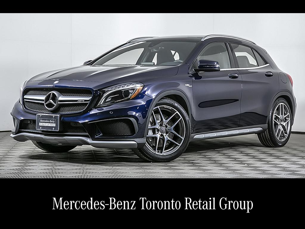 Certified Pre Owned 2017 Mercedes Benz Gla Gla45 Amg Suv Mpp2145377
