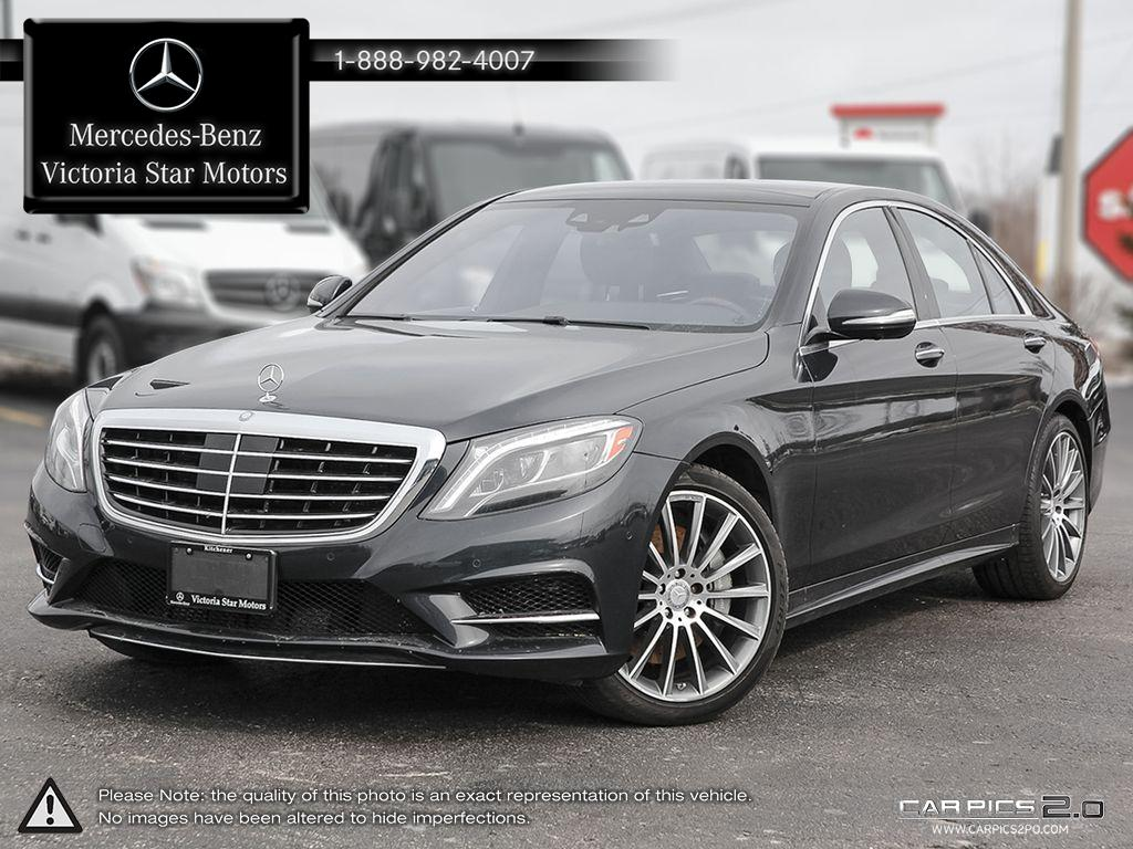 Certified pre owned 2014 mercedes benz s class s550 4 door for Mercedes benz canada pre owned
