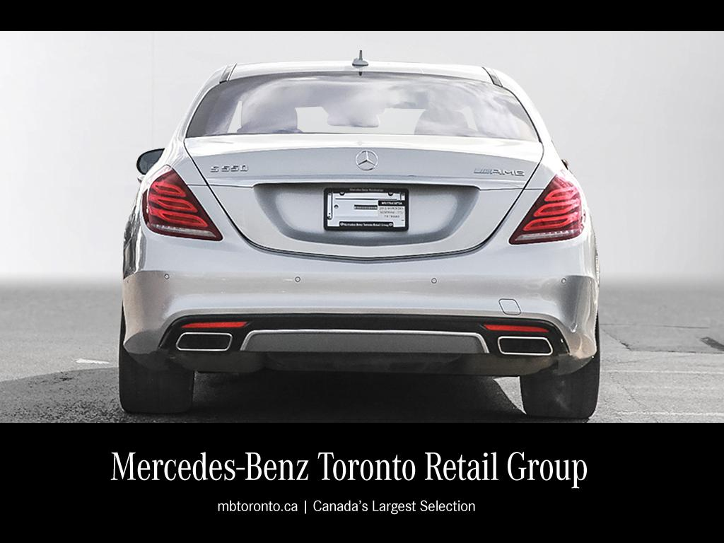 Certified pre owned 2015 mercedes benz s class s550 4 door for Pre owned mercedes benz s class