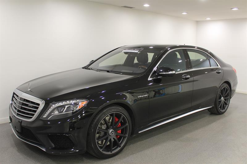Certified Pre Owned 2016 Mercedes Benz S Class S63 Amg 4