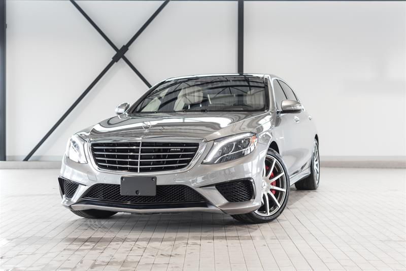 Certified pre owned 2015 mercedes benz s class s63 amg 4 for 2015 mercedes benz s63 amg price