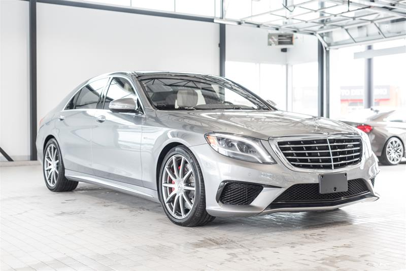 certified pre owned 2015 mercedes benz s class s63 amg 4 door sedan 7b5148a mercedes benz of. Black Bedroom Furniture Sets. Home Design Ideas