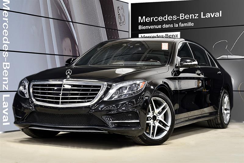 Certified Pre-Owned 2017 Mercedes-Benz S-CLASS S550