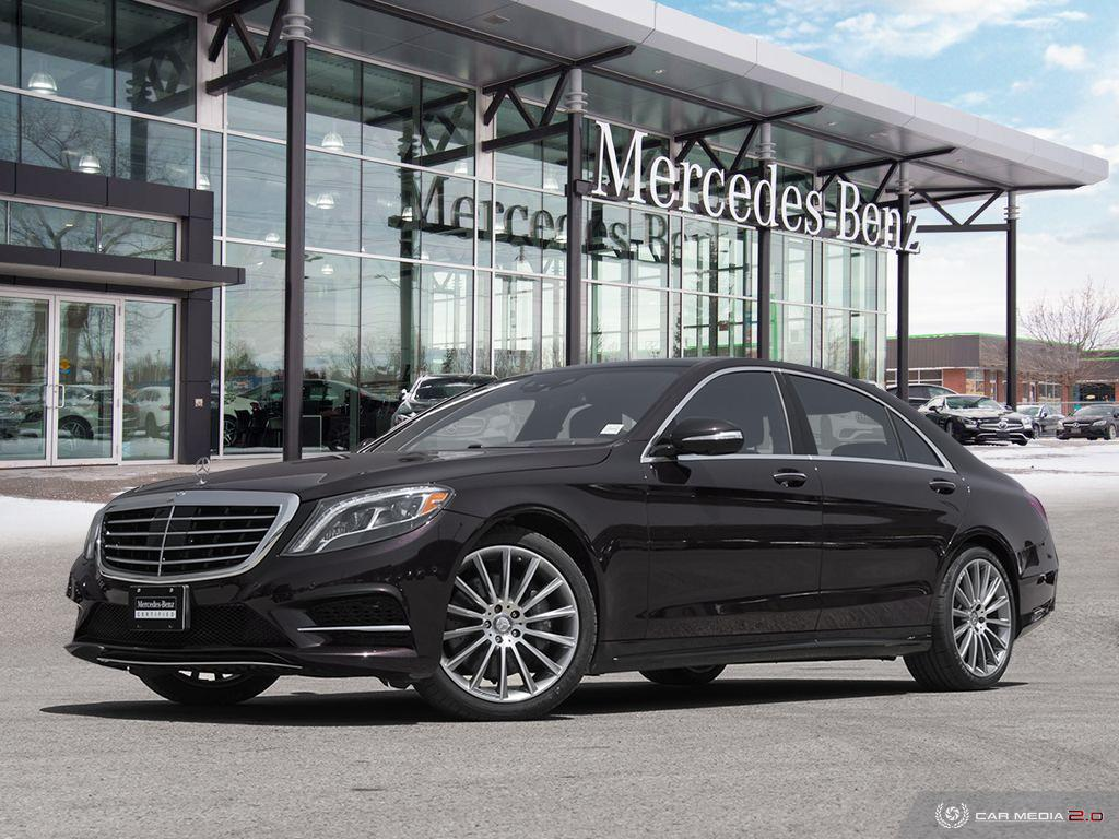 Certified Pre Owned 2016 Mercedes Benz S Cl S550