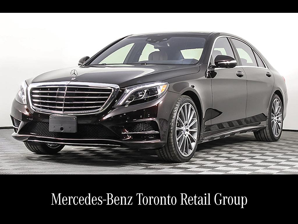 Certified pre owned 2017 mercedes benz s class s550 sedan for Mercedes benz canada pre owned
