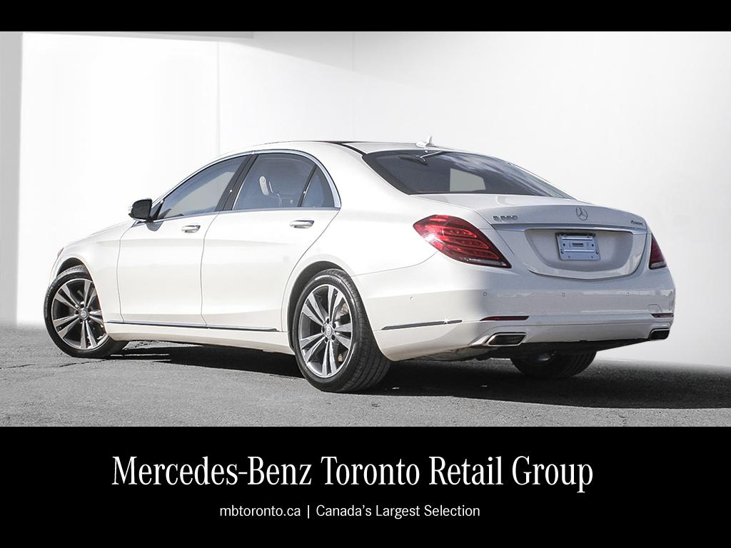 Certified pre owned 2014 mercedes benz s class s550 4 door for Mercedes benz certified pre owned canada